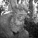 """Thinking Man Statue at Selby Gardens"" by freyfoto"