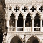 """Doges Palace Columns"" by DonnaCorless"