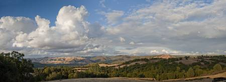 Panorama of Coloma Valley