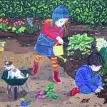 """""""Gardening"""" by englishart"""