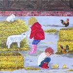 """Childrens Petting Zoo"" by englishart"