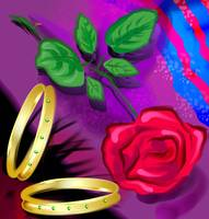 A pair of bangle