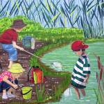 """Pond Dipping"" by englishart"