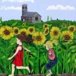 """Sunflowers"" by englishart"