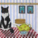"""Cat on Table"" by englishart"