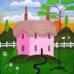 """Pink House"" by englishart"