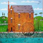 """WaterWheel"" by englishart"