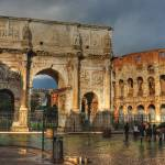 """Colosseum and Arch of Constantine"" by Sabreur76"