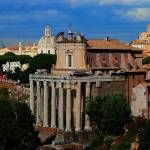 """Temple of Antoninus Pius & Faustina Maior"" by Sabreur76"