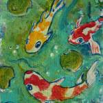 """Koi Pond"" by paintingsbygretzky"