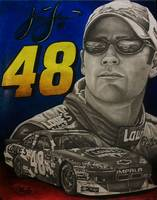 Jimmy Johnson #48 Nascar
