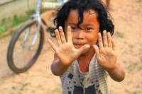Portrait of a Cambodian Child
