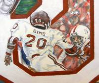 Billy Sims Game Action Close-up
