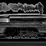 """Speeding Night Train"" by douglarue"