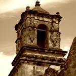 """San Antonio Mission Cross"" by lorieleighlawrence"