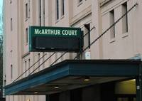 Mac Court Sign