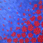 """""""Red Flowers"""" by wildlifeandabstractart"""