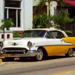 """Miami Beach Classic Car"" by Ffooter"