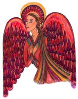 Angel Of Peace Red