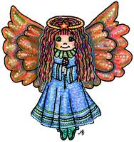 Angel of Blessings Color Pencil