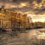 """A canal with a mood"" by arlette"