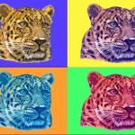 """""""leopard-popart"""" by ArtsandDogs"""