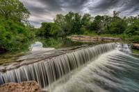 Brushy Creek Waterfall - HDR