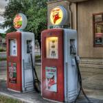 """Old Gas Station - Texaco"" by eyeates"