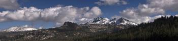Panorama of Mountains, Carson Pass