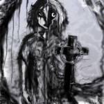 """Cemetery Girl"" by debrahzart"