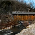"""Indian Creek Covered Bridge"" by Photopeb"
