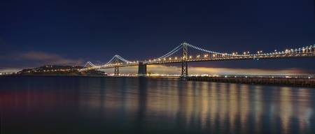 Panorama of Bay Bridge - HDRI