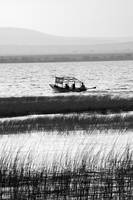 Boat on Lake Awasa