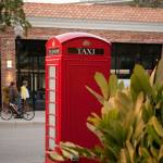 """Red Phone Booth in Old Hyde Park Village"" by freyfoto"