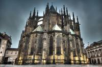 HDR Saint Vitus Cathedral