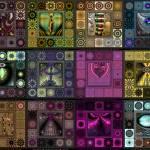 """Quilts 4x3"" by AnnStretton"