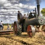 """Steam tractor with plow"" by traversecity"