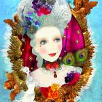 """Queenie with cherubs"" by sylvestra"