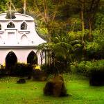 """Costa Rican church"" by dennisherzog"