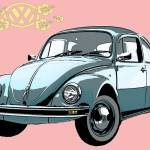 """VW Beetle"" by designedbydigital"