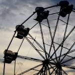 """Ferris Wheel Sunset (7)"" by Kucci"
