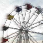 """Ferris Wheel in Motion (3)"" by Kucci"