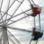 """Ferris Wheel in Motion (5)"" by Kucci"