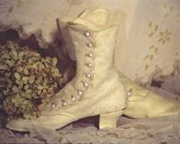 ANTIQUE WEDDING SHOES