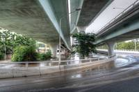 Riverside Expressway, Brisbane During 2011 Floods