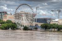 South Bank & Wheel of Brisbane During Floods