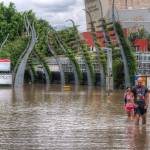 """South Bank During Brisbane 2011 Floods"" by urban"