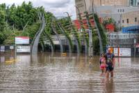 South Bank During Brisbane 2011 Floods