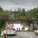 """Park Road, Yeronga During Brisbane 2011 Flood"" by urban"