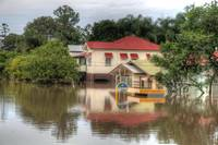 House on Park Road, Yeronga During 2011 Floods
